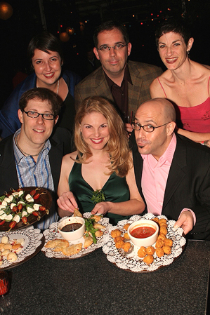 Photo Coverage: Five Course Love Opening Night Party
