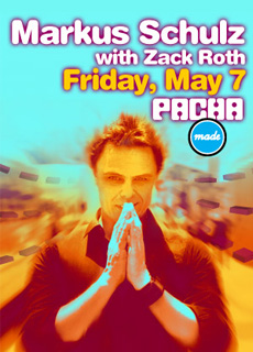 Pacha NYC Announces Upcoming Performances, Kicks off 5/7 With Marcus Schulz