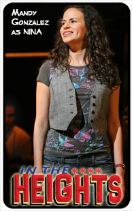 In The Heights Character Card #6: Nina