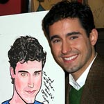 Photo Coverage: John Lloyd Young Sardi's Caricature Unveiled