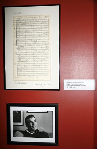 Photo Coverage: John Kander & Fred Ebb Exhibit