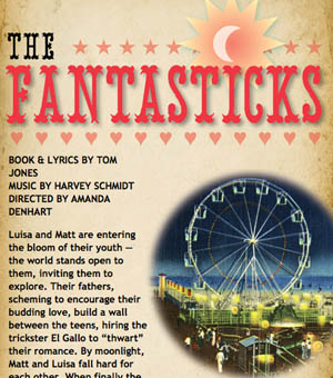THE FANTASTICKS to Kick Off Long Wharf's 2009-10 Season Oct 7 - Nov 1