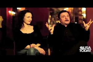STAGE TUBE: Lane & Neuwirth Chat ADDAMS FAMILY