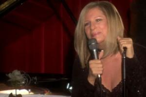 STAGE TUBE: AOL SESSIONS: Barbra Streisand at the Village Vanguard - 'Make Someone Happy'