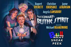 BWW TV: Broadway Beat - Sneak Peek at the Opening Night of Blithe Spirit on Broadway