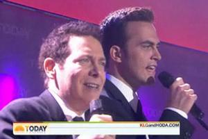 STAGE TUBE: Michael Feinstein and Cheyenne Jackson Sing on TODAY