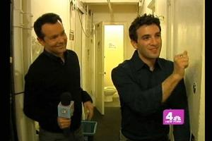 BWW TV: Stage Tube - Behind the Scenes at Jersey Boys with WNBC's LX-TV