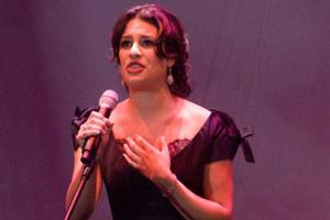 STAGE TUBE: Lea Michele Sings 'On My Own' at the Human Rights Campaign Dinner