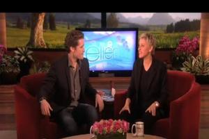 STAGE TUBE: GLEE's Matthew Morrison Visits The Ellen DeGeneres Show