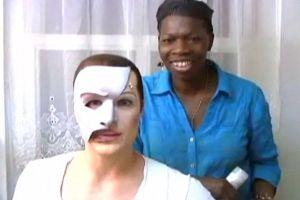 STAGE MAGIC: 'PHANTOM' Makeup Wizard Thelma Pollard