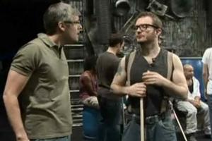 STAGE TUBE: Mo Rocca Visits Off-Broadway's STOMP
