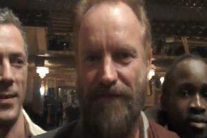 STAGE TUBE: Sting and Alicia Keys Rave About FELA!