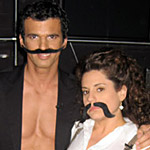 Special Photo Blog Exclusive #21: Marissa Jaret Winokur 'Dancing With The Stars' - Mustaches & Feathers!