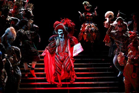 Photo Flash: The Phantom of the Opera Nears Record Performance