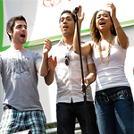 Photo Flash: 'Seasons of Love' RENT in Bryant Park