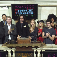 Photo Flash: ROCK OF AGES Cast Rings NYSE Opening Bell