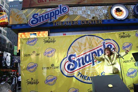 Photo Coverage: Snapple Theater Center Opens