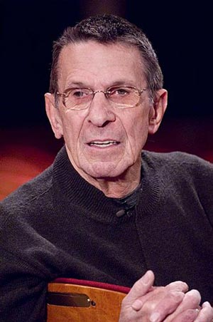 Photo Flash: Story of a Soldier Rehearsal with Nimoy and Thomas