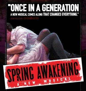 Spring Awakening National Tour Begins in SF, Fall 2008