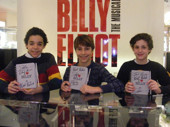 BILLY ELLIOT Boys to Perform 'Electrcity' at BC/EFA ABC and SOAPnet Salute Mar. 9