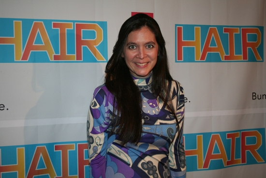 HAIR Director Diane Paulus Receives I.A.L Diamond Award 5/2 At Varsity Show