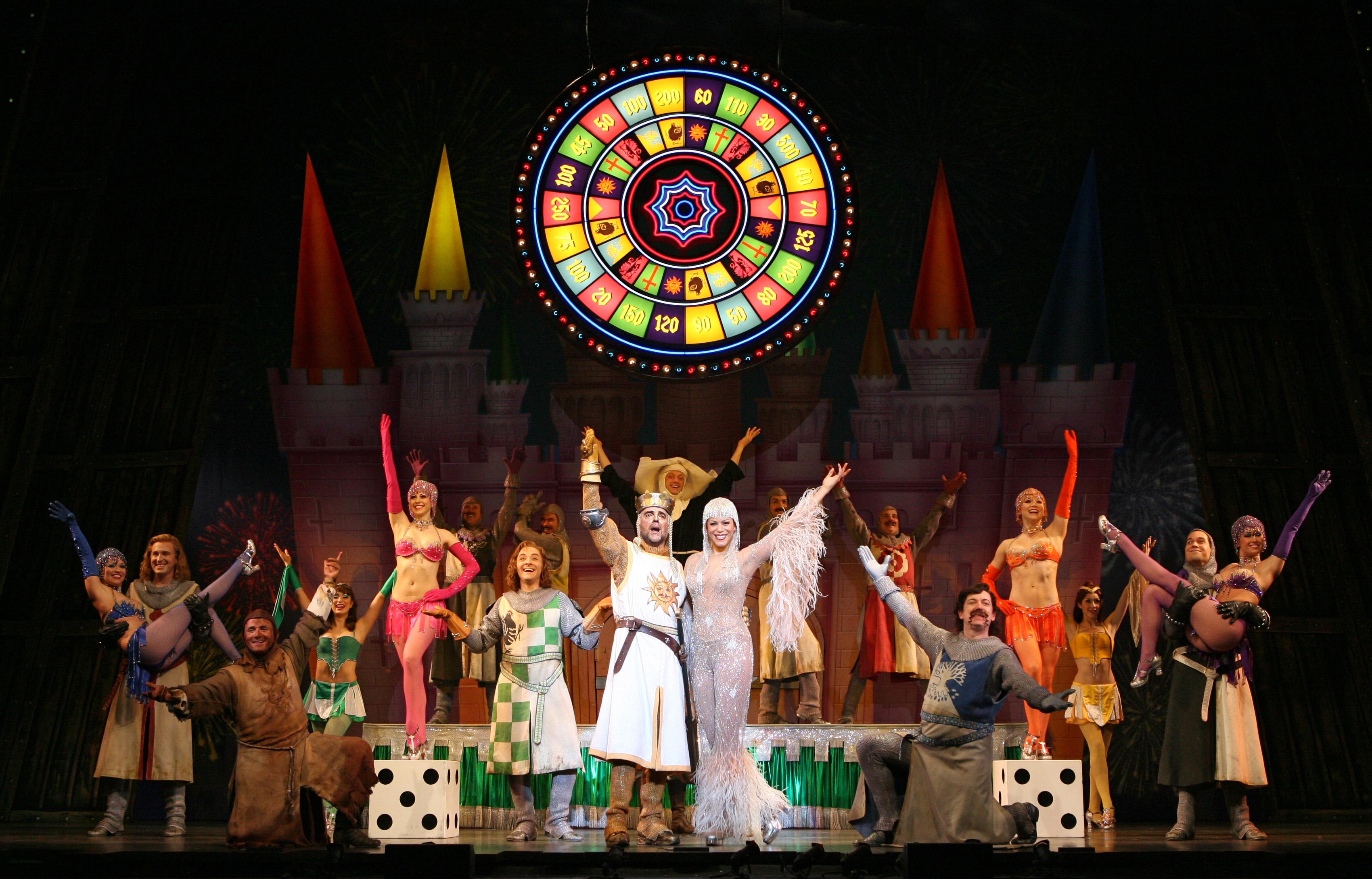 Monty Python S Spamalot Opens The Ocpac 2009 2010 Broadway