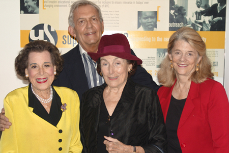 Photo Flash: Kitty Carlisle Hart Attends Marion Bridge Opening at Urban Stages