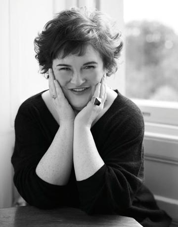 Susan Boyle TV Special Documentary to Air on TV Guide Network Dec. 13 with UK Les Mis Cast