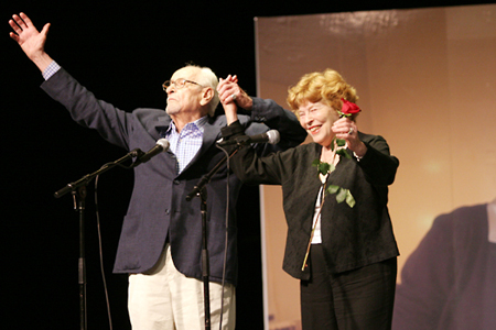 Photo Coverage: A Life in the Theatre - Onstage and Off