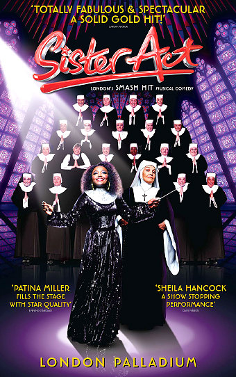 Simon Webbe Joins Cast Of SISTER ACT At The London Palladium 5/31