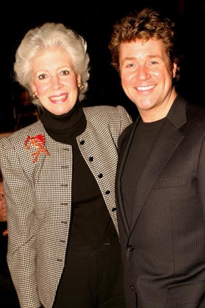 Photo Coverage: Michael Ball and Maria Friedman at Drama League Holiday Luncheon