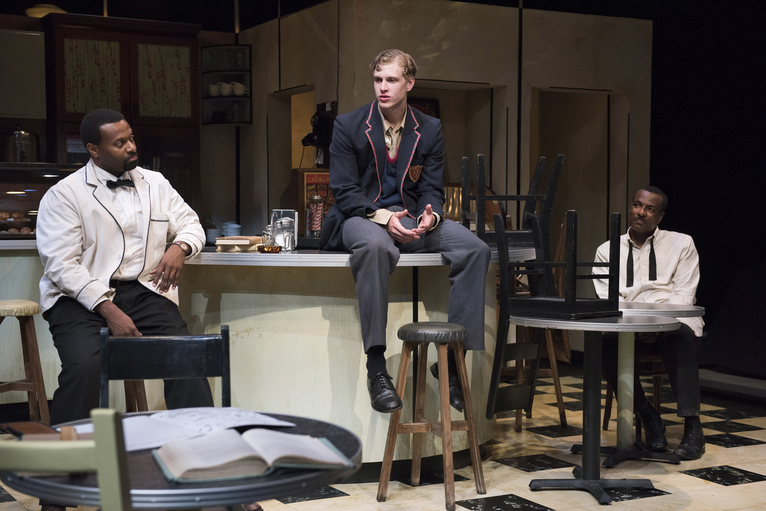 BWW Review: 'MASTER HAROLD' ... AND THE BOYS at the Segal Centre