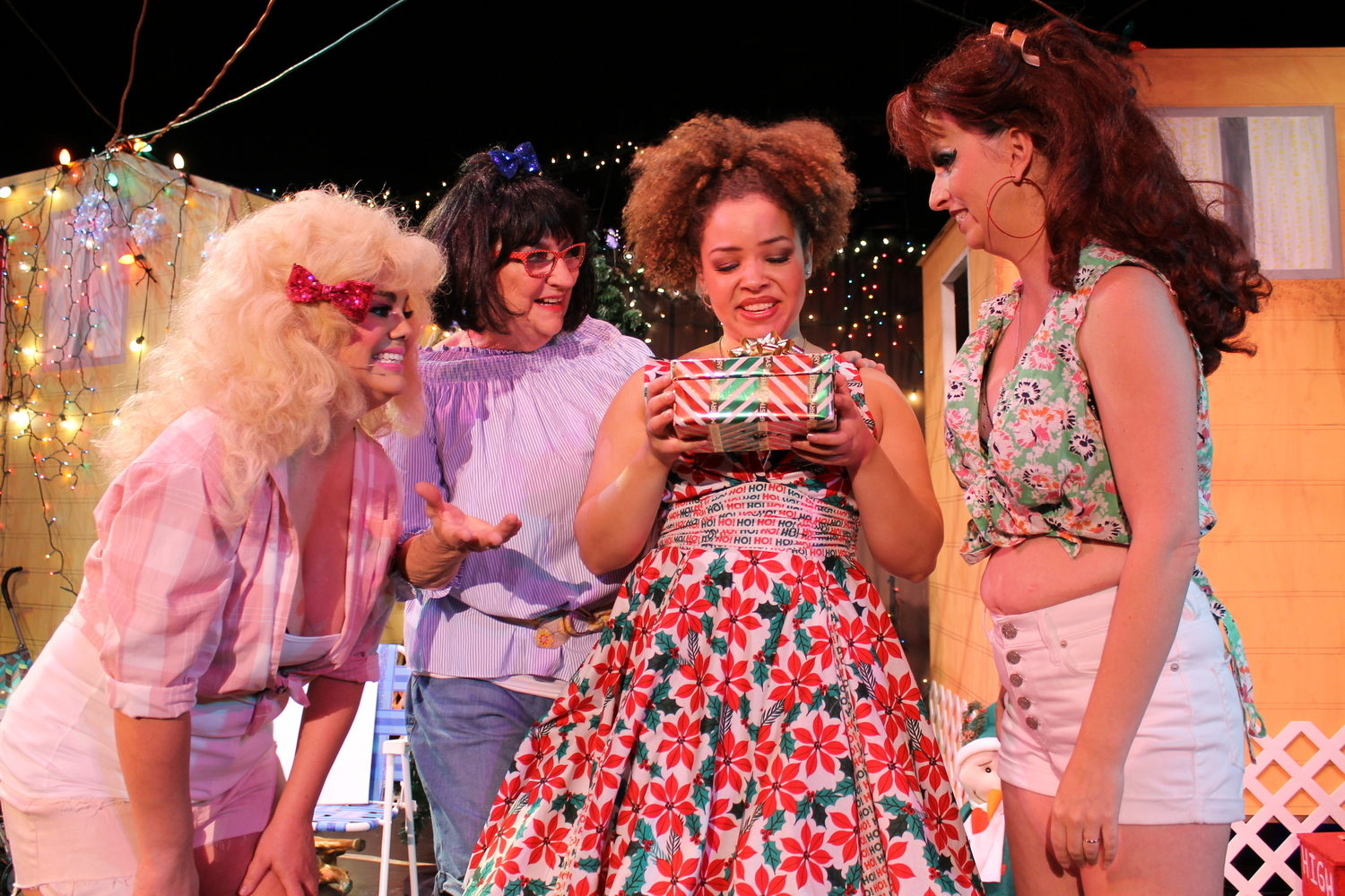 BWW Review: DTW Skewers the Armadillo Acres Trailer Park in a Terrific Holiday Send-up