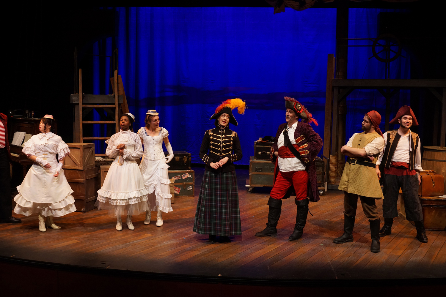 BWW Review: Faithful and Funny Updated PIRATES OF PENZANCE at Park Square Theatre