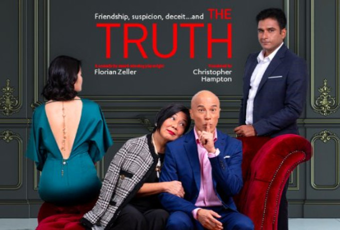 Singapore Repertory Theatre Brings THE TRUTH to Singapore 4/3 - 4/20