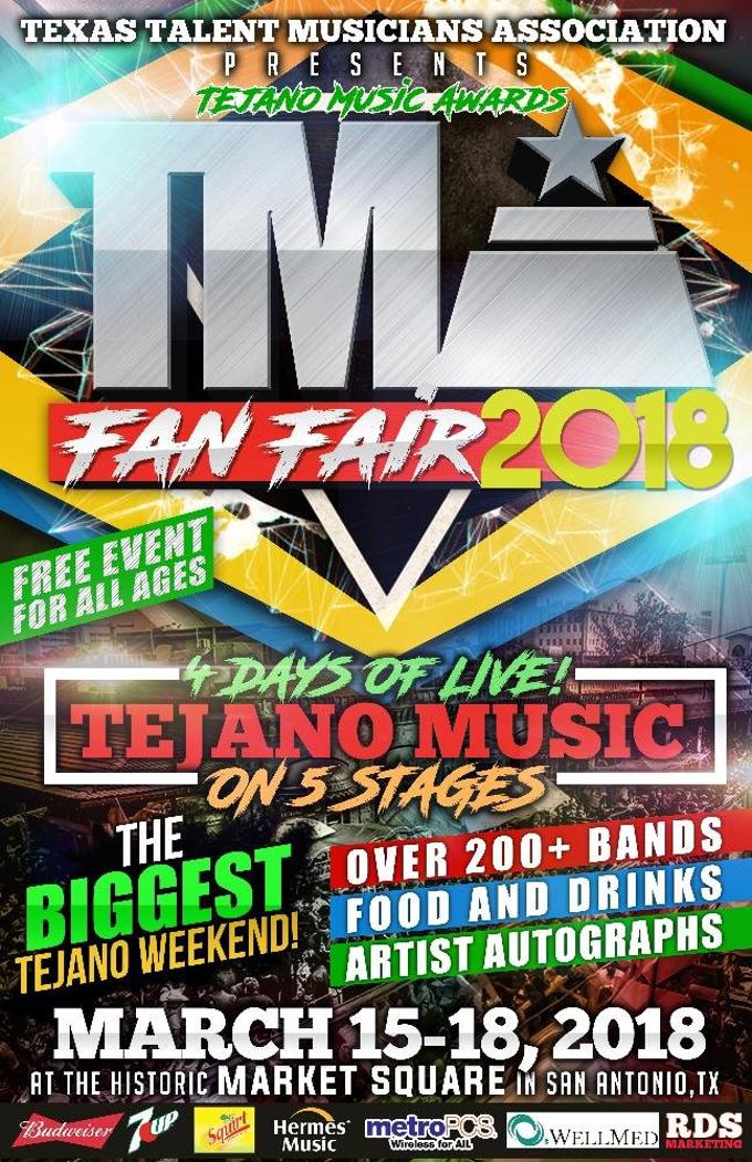 The Tejano Music Awards Fan Fair 2018 Kicks Off This