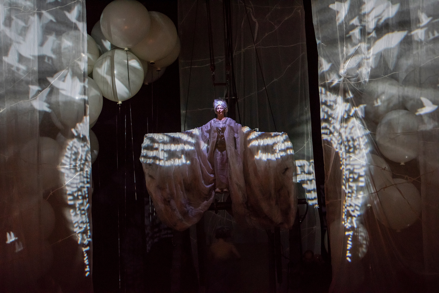 BWW Review: Haydn's CREATION with La Fura dels Baus at Mostly Mozart--I'd date it but I'm not ready to marry it