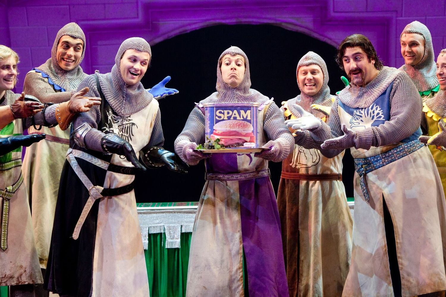BWW Review: MONTY PYTHON'S SPAMALOT at Hershey Theatre