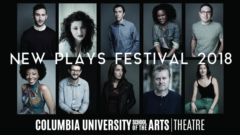 Columbia New Plays Festival Runs April 4th-May 12th