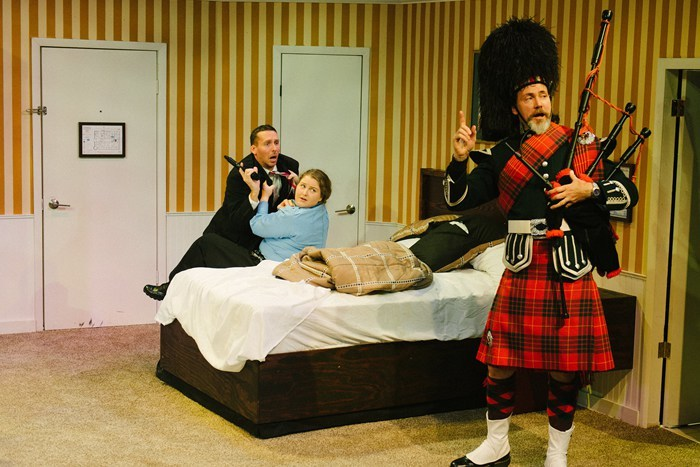 BWW Review: UNNECESSARY FARCE is a Riot at The Keegan Theatre