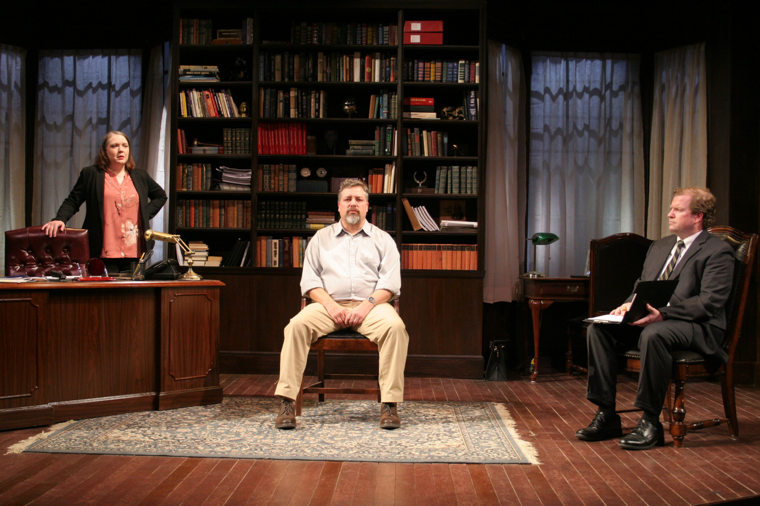 BWW Review: Impressive POWER OF SAIL Premieres at Warehouse Theatre