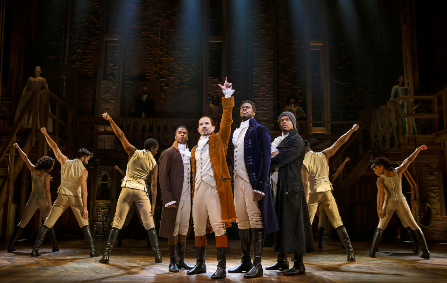BWW Review: HAMILTON Sparks a Feeding Frenzy – and Justifies It