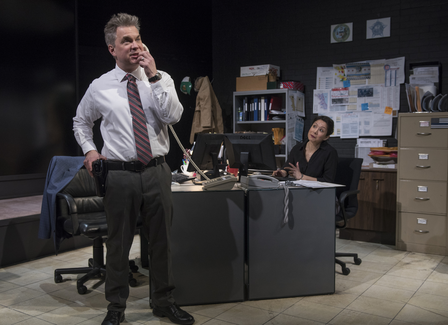 BWW Review: SIX CORNERS at American Blues Theater