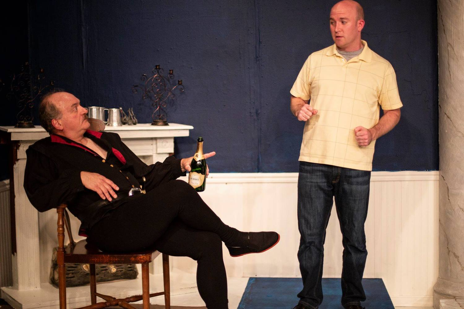 BWW Review: I HATE HAMLET at Oyster Mill Playhouse