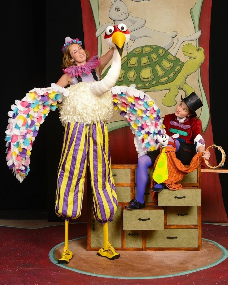BWW Interview: 'Kids just want to be talked to like they are humans!' Amy Sweeney talks THE TORTOISE, THE HARE AND OTHER AESOP'S FABLES at Center for Puppetry Arts