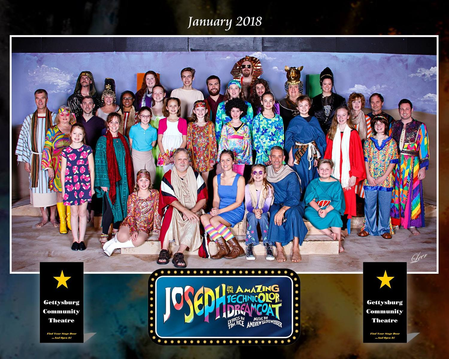 BWW Interview: Cast Members of JOSEPH AND THE AMAZING TECHNICOLOR DREAMCOAT at Gettysburg Community Theatre
