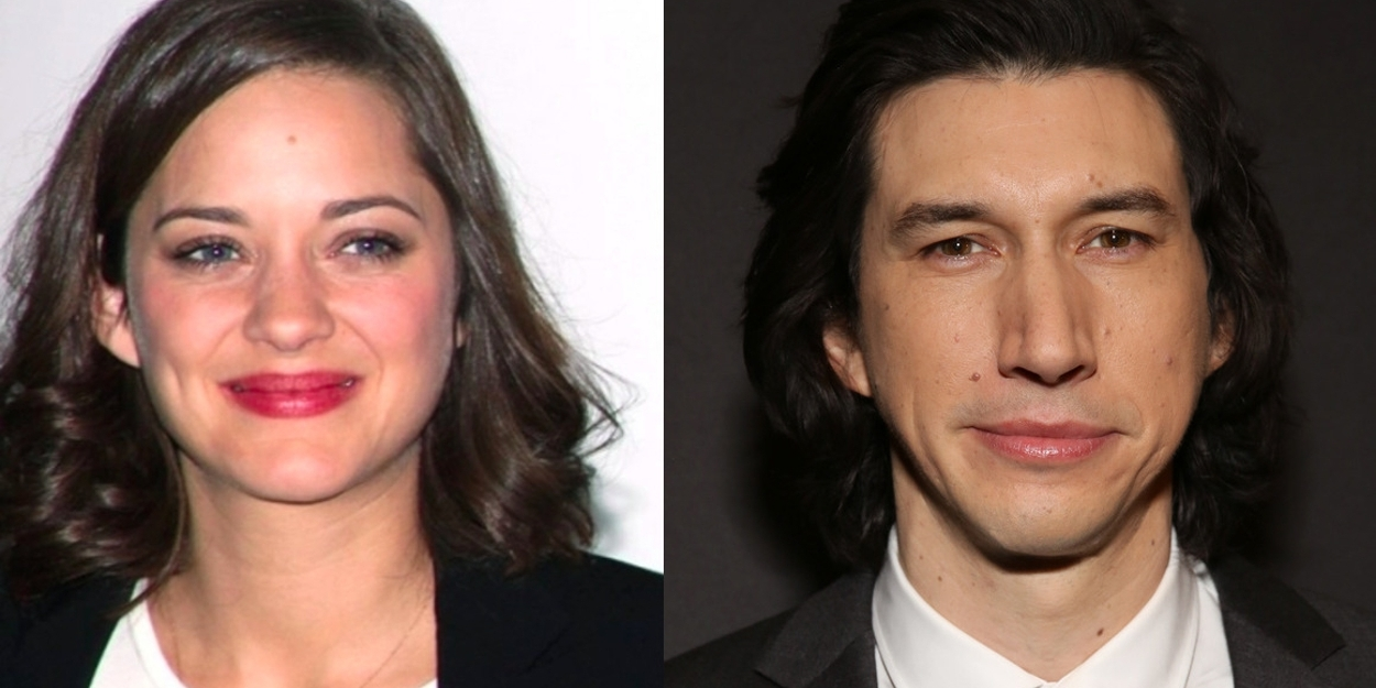 Marion Cotillard Joins Adam Driver in Musical Film ANNETTE