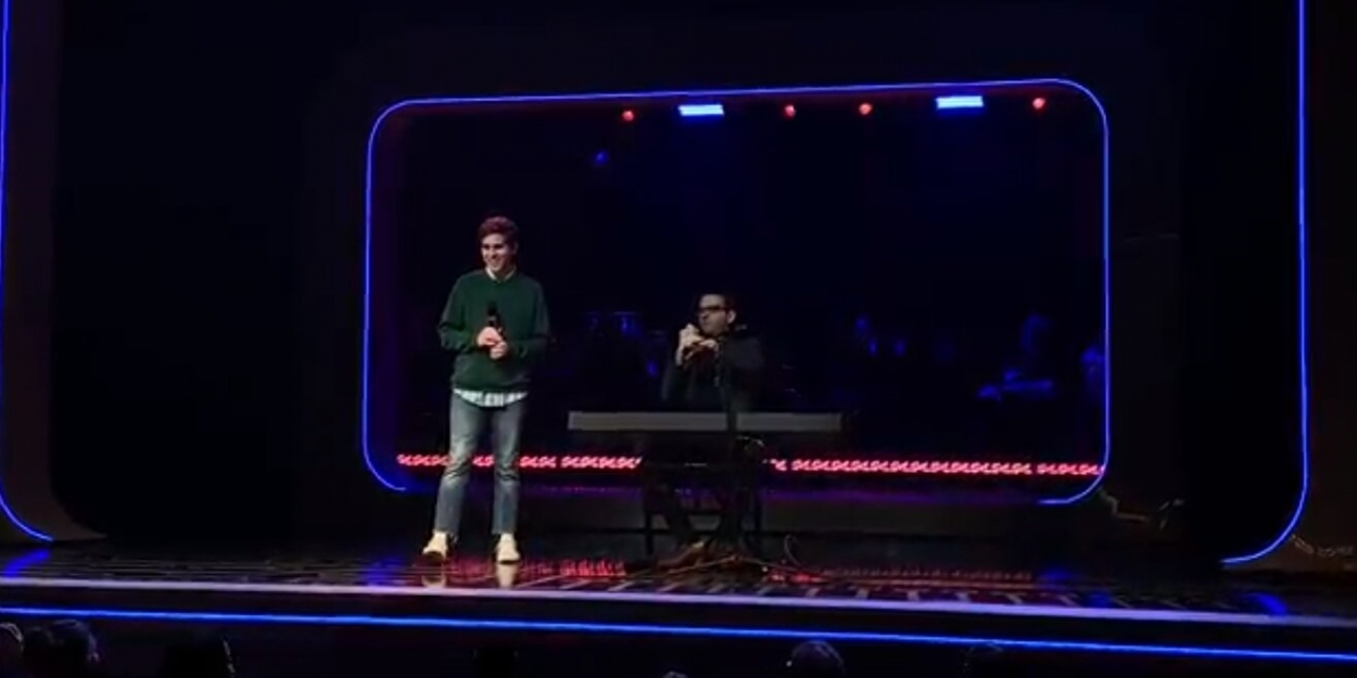 BWW Exclusive: Taylor Trensch Visits BE MORE CHILL For A Post-Show Performance With Joe Iconis
