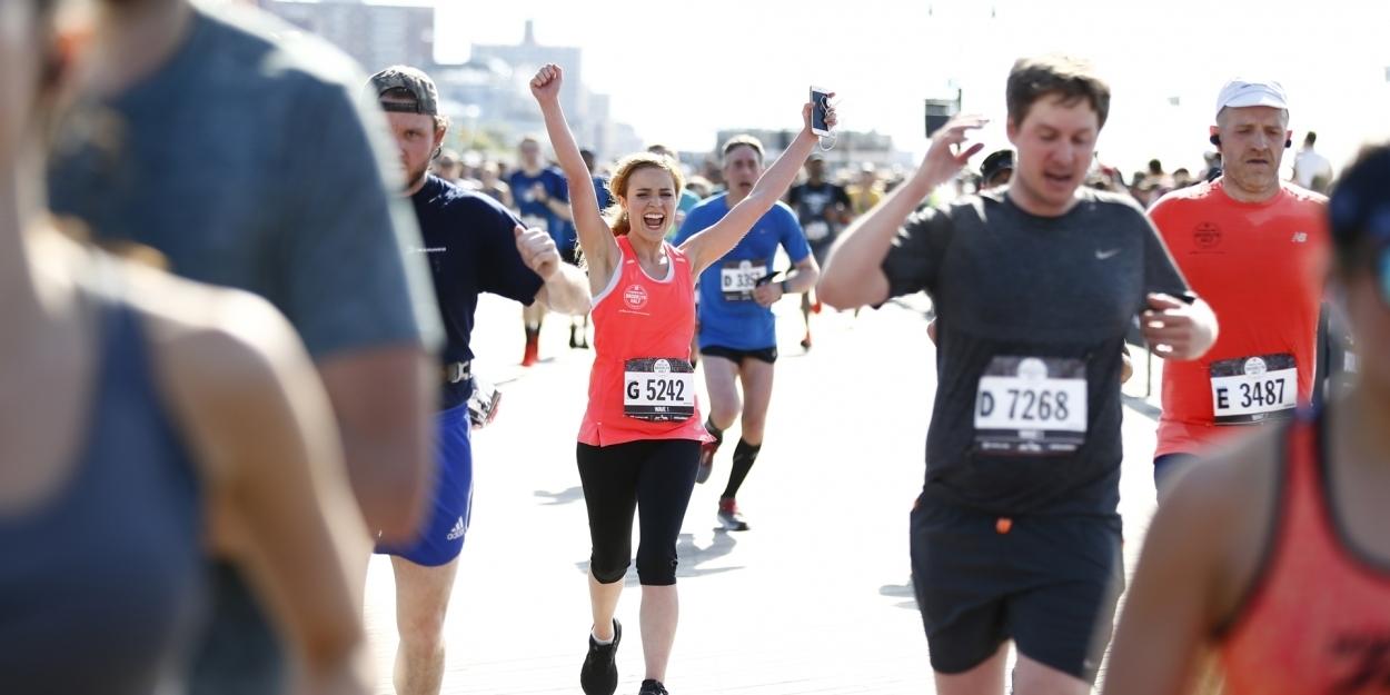Photo Flash: Christy Altomare Sings National Anthem and Runs in 2019 Popular Brooklyn Half Marathon