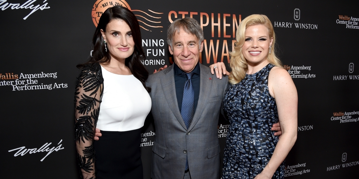 Photo Flash: Menzel, Hilty, and More Honor Stephen Schwartz at Wallis Spring